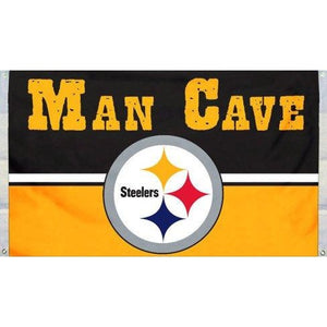 Pittsburgh Steelers Man Cave 3x5ft Flag