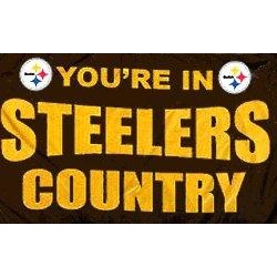 Pittsburgh Steelers Country 3x5ft Flag