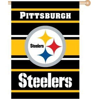 Pittsburgh Steelers House Flag 2 Sided