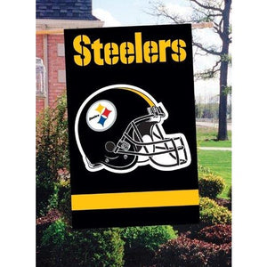 Pittsburgh Steelers House Sewn Flag 2 Sided