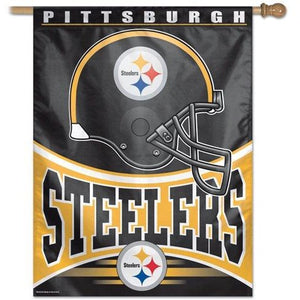 Pittsburgh Steelers House Flag