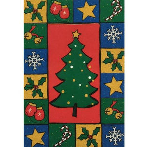Christmas Tree Collage - House Flag - FlagsOnline.com by CRW Flags Inc.