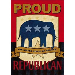 Proud Republican - House Flag - FlagsOnline.com by CRW Flags Inc.