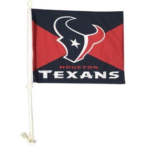 Houston Texans Car Flag 2 Sided