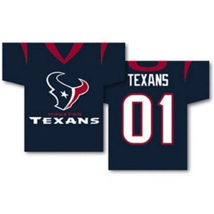 Houston Texans Jersey House Flag 2 Sided