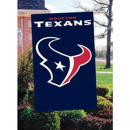 Houston Texans House Sewn Flag 2 Sided