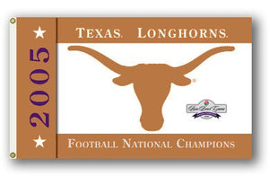 University of Texas 2006 Champs 3x5ft Flag