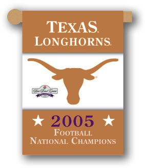 University of Texas 2006 Champs House Flag 2 Sided
