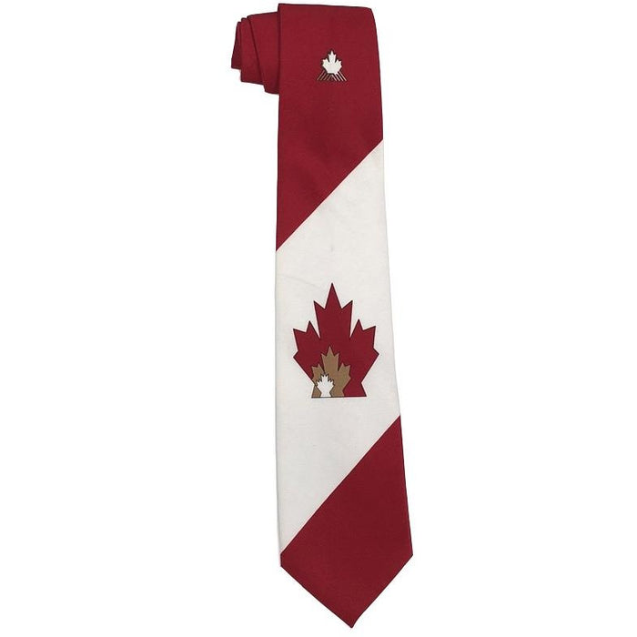 Canada Maple Leafs Tie