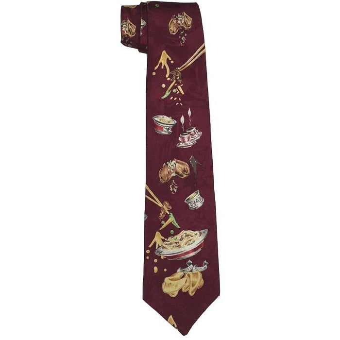 Chinese Food Tie