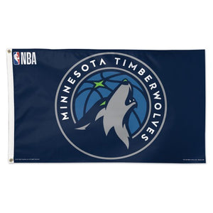 Minnesota Timberwolves 3x5ft Deluxe Flag