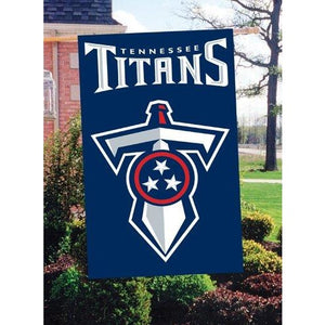 Tennessee Titans House Sewn Flag 2 Sided