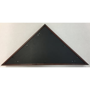 Triangle Wood Display Case for Burial Casket 5x9 1/2ft Flag - Cherry - FlagsOnline.com by CRW Flags Inc. - 3