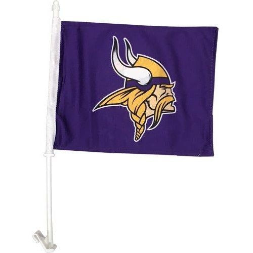Minnesota Vikings Car Flag 2 Sided