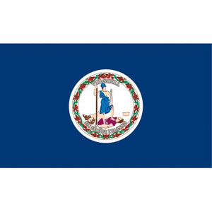 Virginia Flag - Industrial Polyester