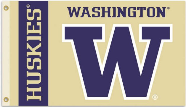 University of Washington 3x5ft Flag