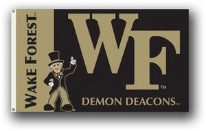 Wake Forest University 3x5ft Flag