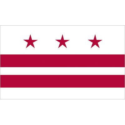 Washington, D.C. Flag - Industrial Polyester