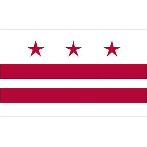 Washington DC Flag - Nylon