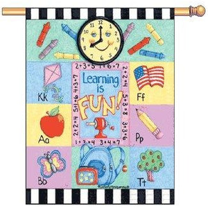 Learning Is Fun - House Flag