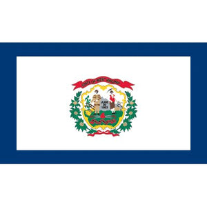 West Virginia  Flag - Industrial Polyester