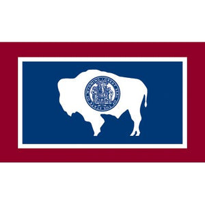 Wyoming Flag - Industrial Polyester