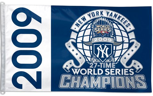 New York Yankees 2009 World Series Champs 3x5ft Flag
