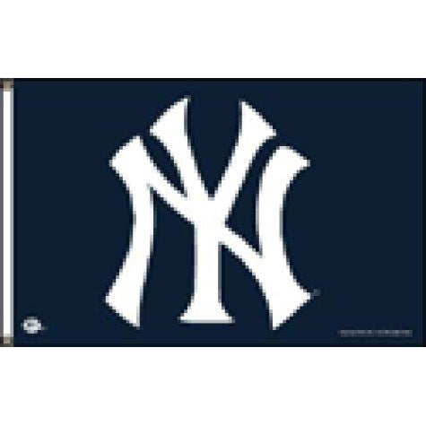 New York Yankees 3x5' Flag with Grommets - FlagsOnline.com by CRW Flags Inc.