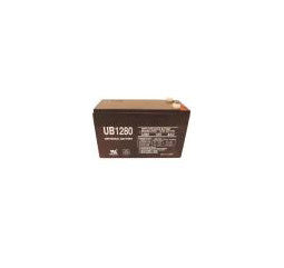 Universal Battery 12 Volt 8 Amp Hour Sealed Lead Acid (SLA) Battery Part No 100UPG_1280_F1 Pallet of 100