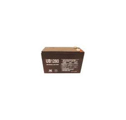 Universal Battery 12 Volt 8 Amp Hour Sealed Lead Acid (SLA) Battery Part No 100UPG_1280_F2 Pallet of 100