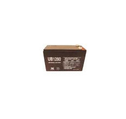 Universal Battery 12 Volt 8 Amp Hour Sealed Lead Acid (SLA) Batteries Part No 10UB1280F2 Case of 10