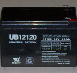 Universal Battery 12 Volt  12 Amp Hour Sealed Lead Acid (SLA) Battery Part No 1_UB12120F2