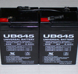 Universal Battery 6 Volt  4.5 Amp Hour Sealed Lead Acid (SLA) Battery Part No 2_UB645