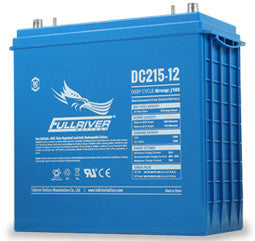 Fullriver 12 Volt 215 Amp Hour AGM Battery Part No DC215-12 Terminal Type DT