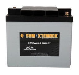 Sunxtender 6 Volt 103 Amp Hour AGM Battery Part No PVX-1030T