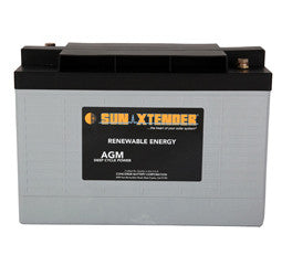 Sunxtender 6 Volt 256 Amp Hour AGM Battery Part No PVX-2560T1
