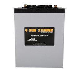 Sunxtender 6 Volt 305 Amp Hour AGM Battery Part No PVX-3050T