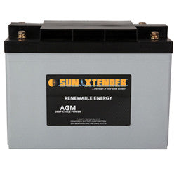 Sunxtender 2 Volt 624 Amp Hour AGM Battery Part No PVX-6240T1