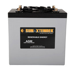 Sunxtender 2 Volt 672 Amp Hour AGM Battery Part No PVX-6720T
