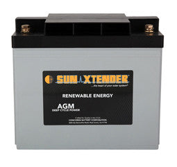 Sunxtender 12 Volt 84 Amp Hour AGM Battery Part No PVX-840T