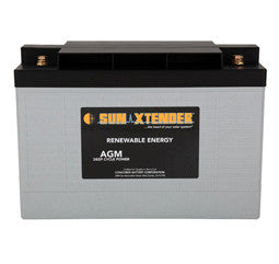 Sunxtender 12 Volt 89 Amp Hour AGM Battery Part No PVX-890T