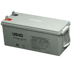 Universal Battery 12 Volt 180 Amp Hour AGM Battery Part No UB4D_GEL