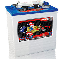 US Battery 6 Volt 251 Amp Hour Conventional Wet Cell Golf Cart Battery Part No US145XC2