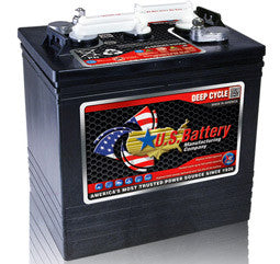 US Battery 6 Volt 208 Amp Hour Conventional Wet Cell Golf Cart Battery Part No US1800XC2