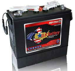US Battery 12 Volt 220 Amp Hour Conventional Wet Cell Scrubber & Sweeper Battery Part No US185HC-XC