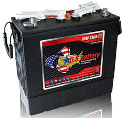 US Battery 12 Volt 200 Amp Hour Conventional Wet Cell Scrubber & Sweeper Battery Part No US185XC