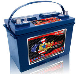 US Battery 12 Volt 105 Amp Hour Conventional Wet Cell Scrubber & Sweeper Battery Part No US27DCXC