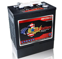 US Battery 6 Volt 310 Amp Hour Conventional Wet Cell Scrubber & Sweeper Battery Part No US305-XC