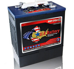 US Battery 6 Volt 290 Amp Hour Conventional Wet Cell Scrubber & Sweeper Battery Part No US305E-XC