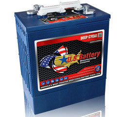 US Battery 6 Volt 340 Amp Hour Conventional Wet Cell Scrubber & Sweeper Battery Part No US305HC-XC